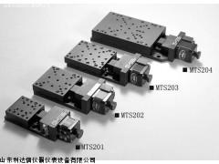 超薄型电控平移台(V形导轨+交叉滚柱LDX-MTS202