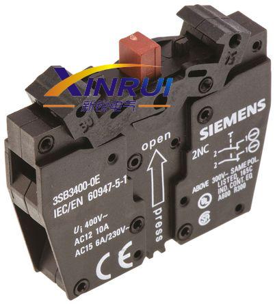 西门子 接触器 3sb3400-0e