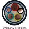天津小猫牌VV32钢丝铠装电力电缆1*150价格