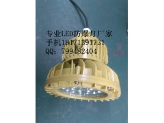 电厂锅炉平台防爆LED灯40w 50w 60w 带灯杆