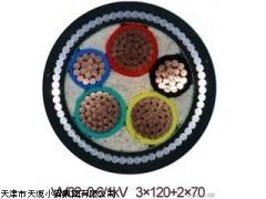 天津电缆价格VV32钢丝铠装电力电缆