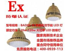 喷漆房LED防爆壁灯50W/化工厂防爆照明灯60W厂家
