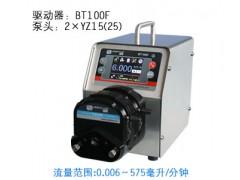 BT100F 雷弗自动灌装蠕动泵长沙供应