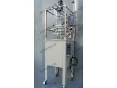 50L单层玻璃反应釜,郑州50L单层玻璃反器