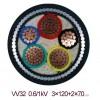 YJV32-3*95钢丝铠装电力电缆,YJV32电缆
