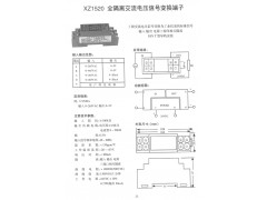 XZ1520全隔离交流电压信号变换端子价格