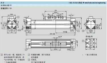 德国festo磁耦无杆气缸工作原理,festo无杆气缸结构图图片
