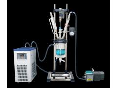 专业供应GR-1双层玻璃反应釜,1L双层玻璃反应价格