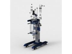 河南GRL-20升降双层玻璃反应釜,升降双层玻璃反应釜价格