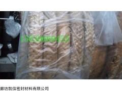 河北厂家生产直销6*6mm纯牛油棉纱盘根