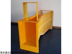 供应B=25 玻璃钢巴氏计量槽 明渠流量测量