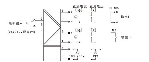 供应虹润nhr-m34智能频率转换器