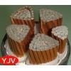 国标铜芯电缆线YJV3*240+2*120mm2批发价