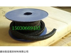 17*17mm高强黑四氟盘根价格 辽宁黑四氟盘根厂家