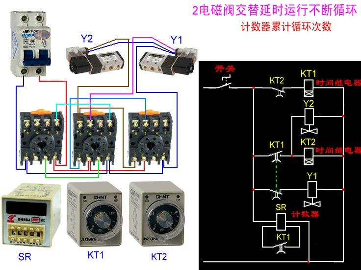 smc电磁阀接线方法, smc电磁阀接线图