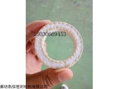 72*52*10芳纶四氟混编盘根环,芳纶碳素混编盘根环