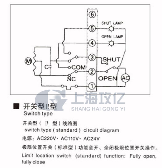 、GY系列精小型电动执行器产品概述: 上海攻亿GY系列精小型电动执行机构适用于部分回转类阀门(如蝶阀、球阀和风门挡板、旋塞阀、百叶阀的开关和调节功能等),采用进口电子部分元件,优质铝合金压铸件外壳,精细流畅,体积小重量轻、免维护、耐腐蚀性强等优良性能,可在狭窄地方使用。产品广泛应用于楼宇、造纸、电力、化工、水处理、船舶、电站、供热,轻工等各行业中。 二、精小型电动执行器优点如下: 工作电压:AC110V、AC220V、AC380V 、DC24V 输出扭矩:50N*M,100N*M,200N*M,400N*