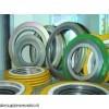 供应304不锈钢缠绕白四氟垫 基本型金属垫 耐压抗磨损