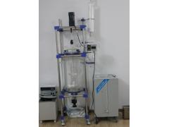 明杰双层玻璃反应釜,低温结晶玻璃反应釜,低温夹套反应釜