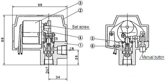 smc电动式自动排水器,smc自动排水器adm200-045