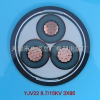 MYJV22-10kv-3*120矿用铠装高压铜芯电力电缆