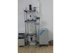 湖南双层低温结晶反应釜,玻璃夹套玻璃反应釜,高温反应釜