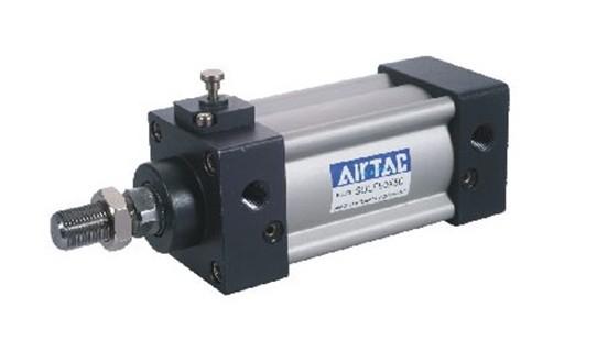 进口台湾亚德客airtac带锁气缸,亚德客气缸型号图片