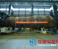 我国首台自主研发CAP1000蒸汽发生器完成水压试验