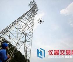 无人机助力广东电网公司开展架空输电线路验收工作