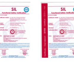 喜讯!虹润智能仪表产品获得国际SIL功能安全认证