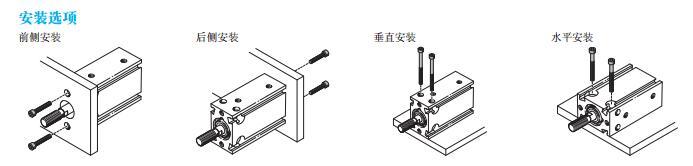 多位气缸最多可具有6个位置,连接组件用于标准,紧凑和短行程气缸,最多图片