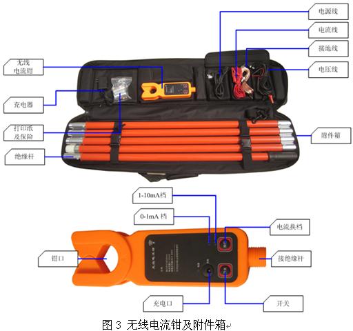 氧化锌避雷器带电测试仪图片