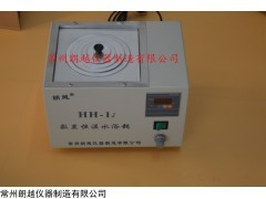 金壇HH-1J數顯恒溫磁力攪拌水浴鍋