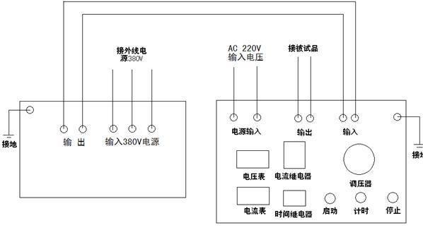 简易电流控制灯亮灭电路图