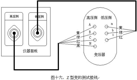 接线图如下图所示: 仪器采用高性能锂离子充电电池做