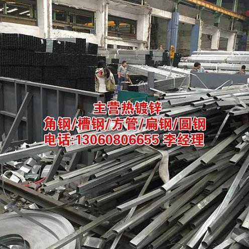 梅州镀锌钢管厂家直销    镀锌圆钢是引下线,镀锌角钢做防雷接地
