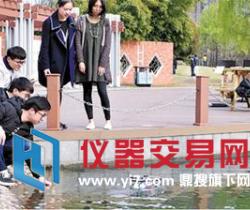 """智能可移动水质监测机器人助力浙江""""五水共治"""""""