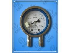 供应CYW-150B虹德不锈钢差压压力表