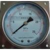 轴向方边抗震压力表/YK100ZQ