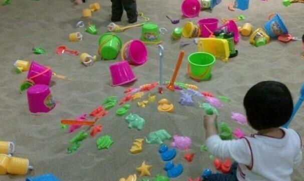 儿童游乐场沙滩乐园专用天然海砂小孩玩耍沙