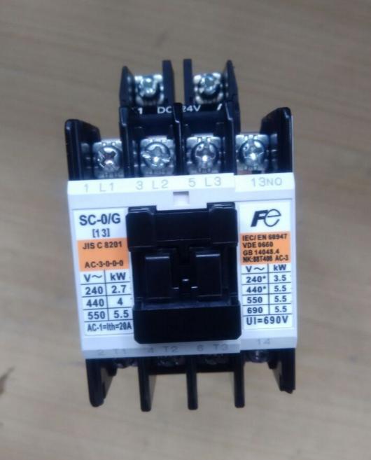 富士直流接触器sc-0/g