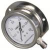 径向带边不锈钢压力表型号规格,量程,精度,安装形式