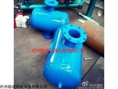 排气高速螺旋除污器安装