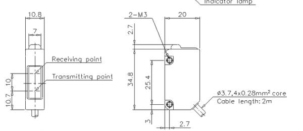 日本keyence独立型光电传感器@keyence传感器报价