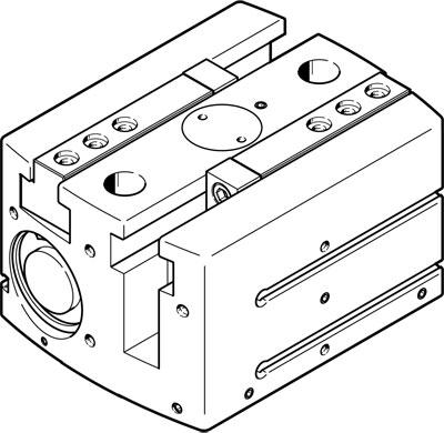 hgpl-40-40-a-b@festo电动执行器气爪图片