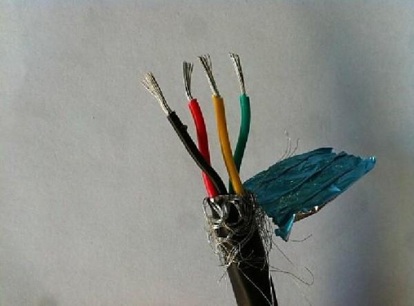通讯电缆rs485 2*2*1.5 屏蔽双绞信号线