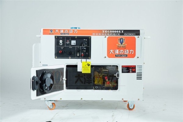 双缸小型15kw低噪音柴油发电机组价格 - 仪器交易网