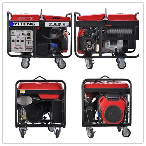 本系列机组也可以按用户需求配套伊藤牌系列无刷发电机,英国stamford
