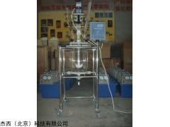 JT-2L-XATK(实验型移动式)双层玻璃反应釜