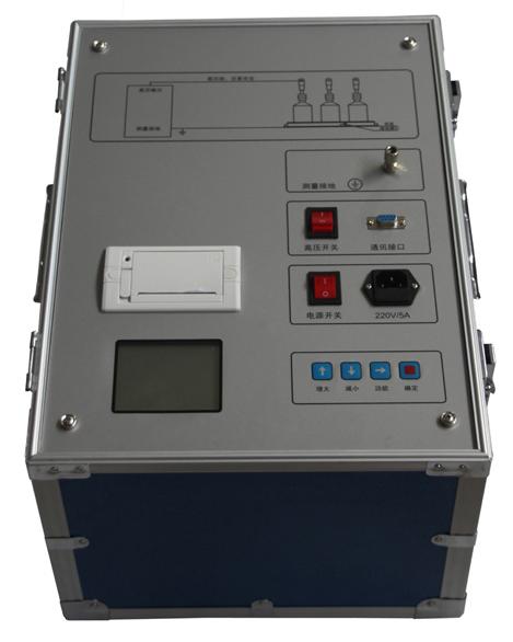 该测试仪集工频高压电源,测量,控制系统为一体,浓缩在一个铝合金箱内